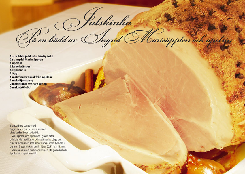 Recept Julskinka 2 Nibble