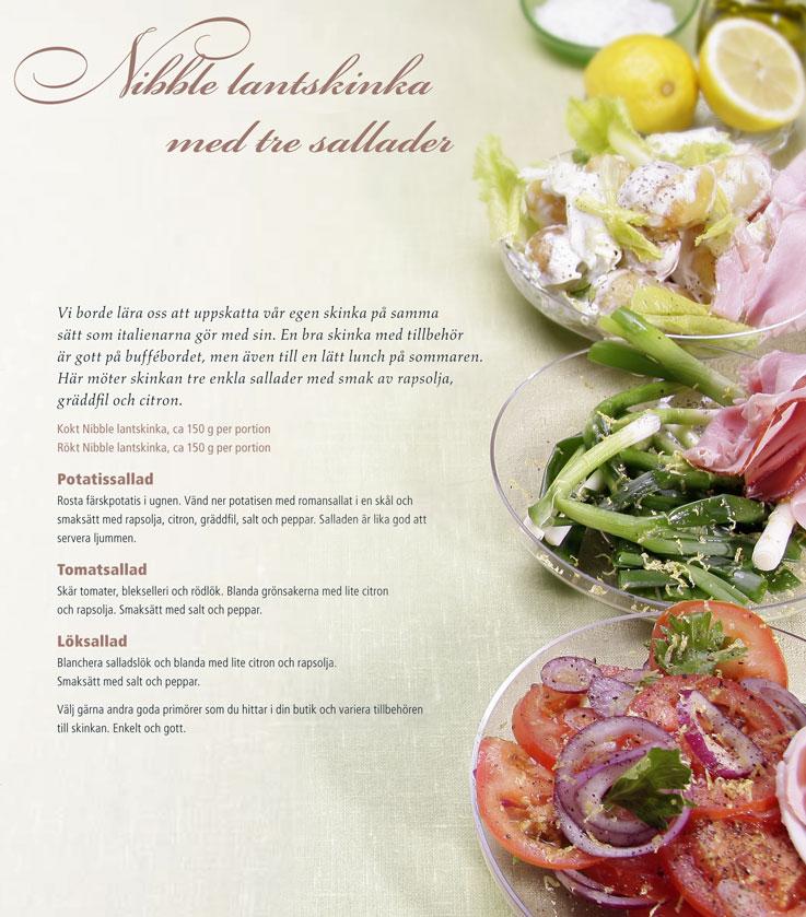 Recept lantskinka Nibble