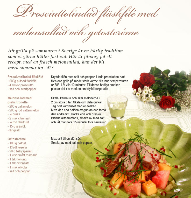 Recept Prosciuttolindad flaskfile Nibble